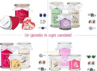 Logo Partecipa gratis e vinci kit regalo JewelCandle