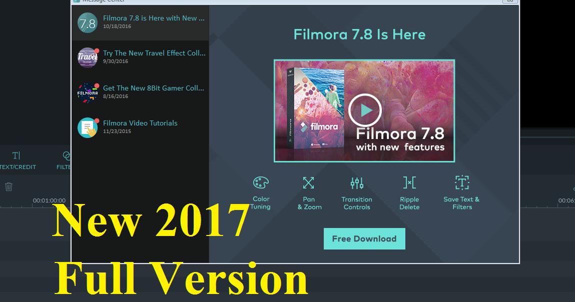 wondershare filmora crack file 32 bit