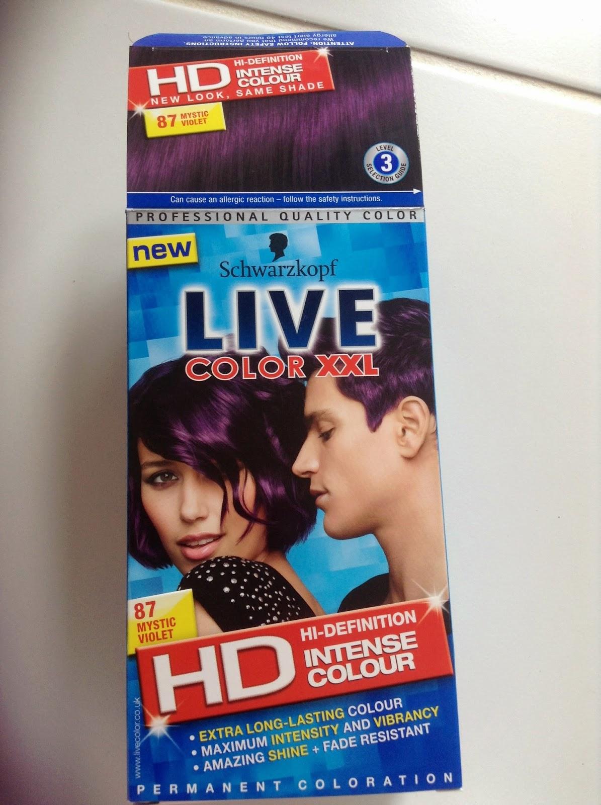 Schwarzkopf LIVE Color XXL HD Mystic Violet
