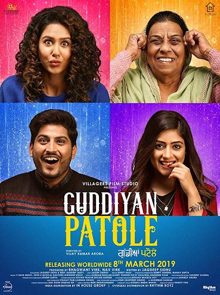 Poster of Guddiyan Patole (2019) Full Movie [Punjabi-DD5.1] 720p HDRip ESubs Download