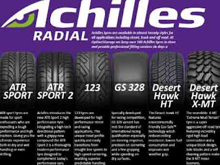 Daftar Harga Ban Achilles Terbaru
