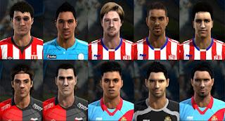 Facepack Liga Argentina v9 Pes 2013