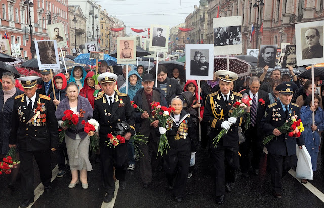 "The action ""Immortal Regiment"""