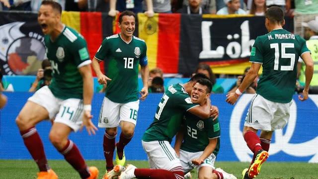 Piala Dunia 2018: Meksiko Tumbangkan Jerman 1-0