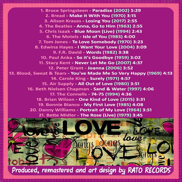 Cd LOVE SONGS FOREVER 7 Back