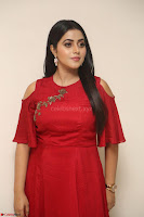 Poorna in Maroon Dress at Rakshasi movie Press meet Cute Pics ~  Exclusive 157.JPG