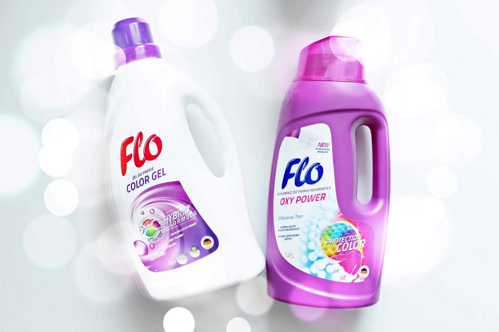 FLO Hybrid Color i FLO Oxy Power - świeże i czyste pranie