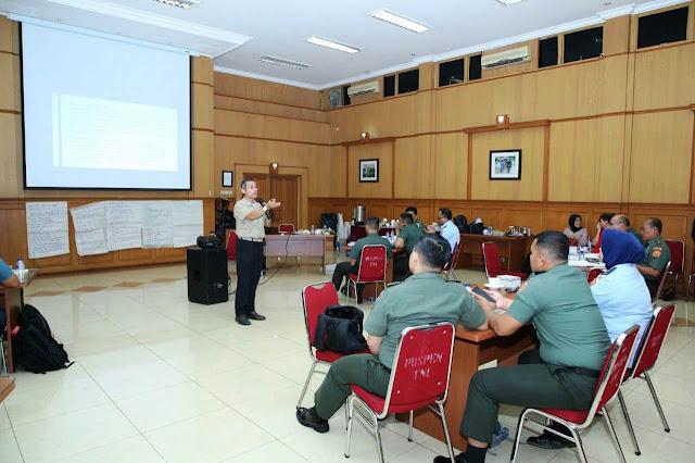 Kapuspen TNI : Pelatihan MOC Tempat Berbagi Pengalaman Sinergitas TNI dengan Media