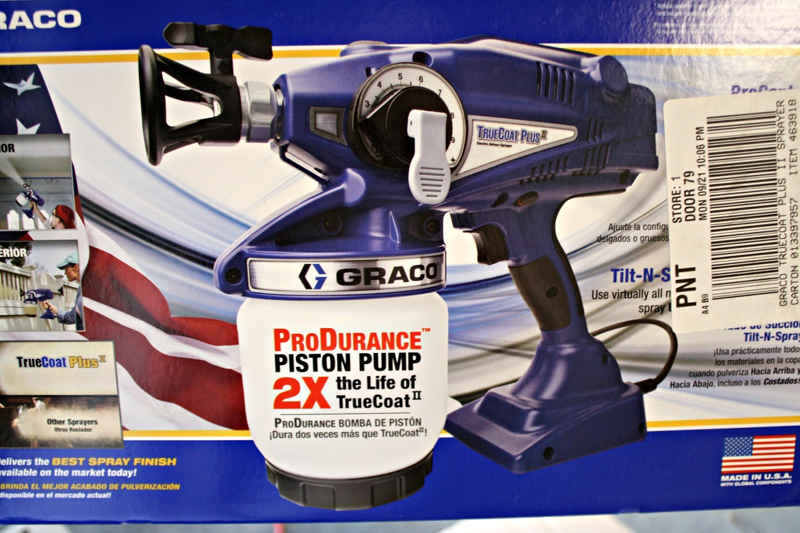the best sprayer for painting kitchen cabinets from thrifty decor chick