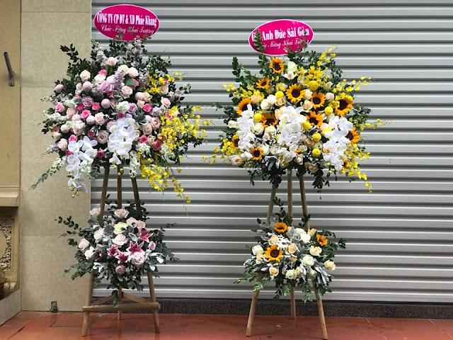 mừng khai trương nên tặng hoa gì