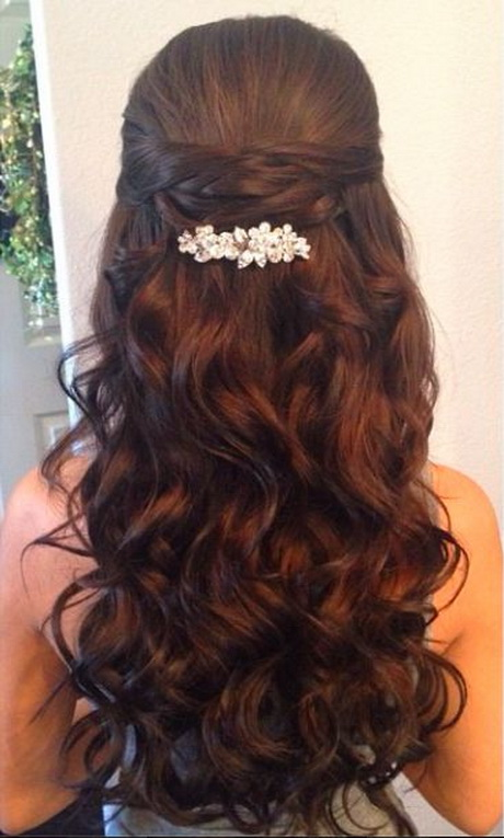 Traditional Classic Quinceanera Hair