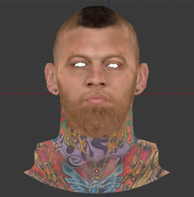 NBA 2K14 Chris Andersen Face Mod