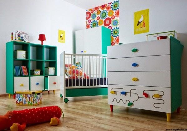Chambre bébé garçon contemporaine