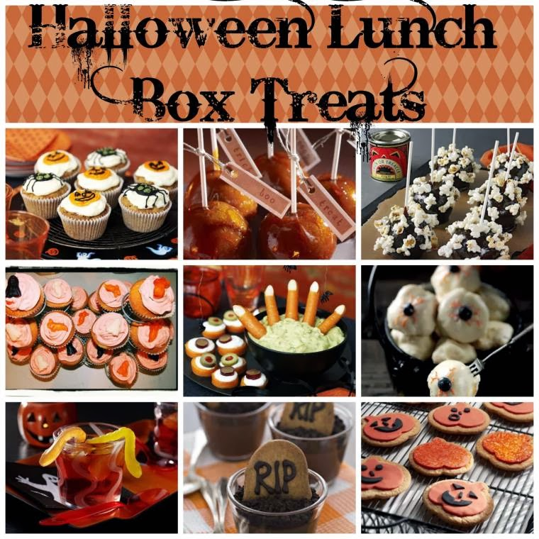 Halloween Lunch Box Treats And How To Make Them!