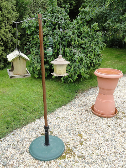 Chateau Moorhen Home Made Bird Feeding Stations