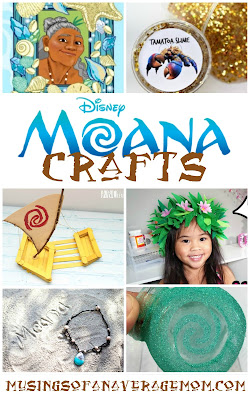 Moana crafts