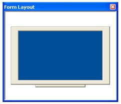 Bentuk Form Layout window