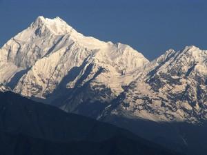 3. Gunung Kanchenjunga (8586m), Nepal / India