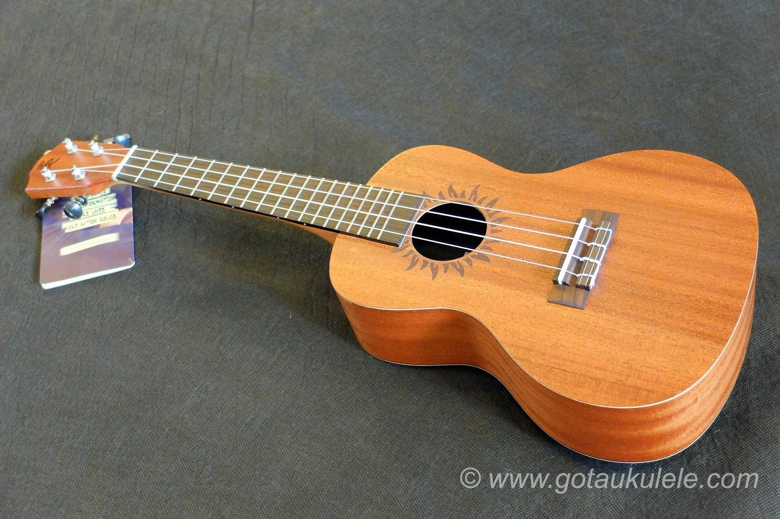 Baton Rouge V2C Sun ukulele