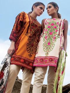 Sana Safinaz Muzlin Embroidered Eid Collection Vol-2 2016-2017