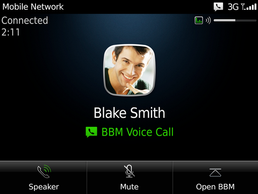 BlackBerry Messenger 7 brings free Voice Calls over WiFi