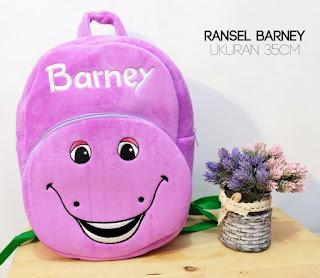 Jual Tas Boneka Barney Import
