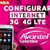 Configurar Internet APN 3G/4G LTE Avantel Colombia 2019