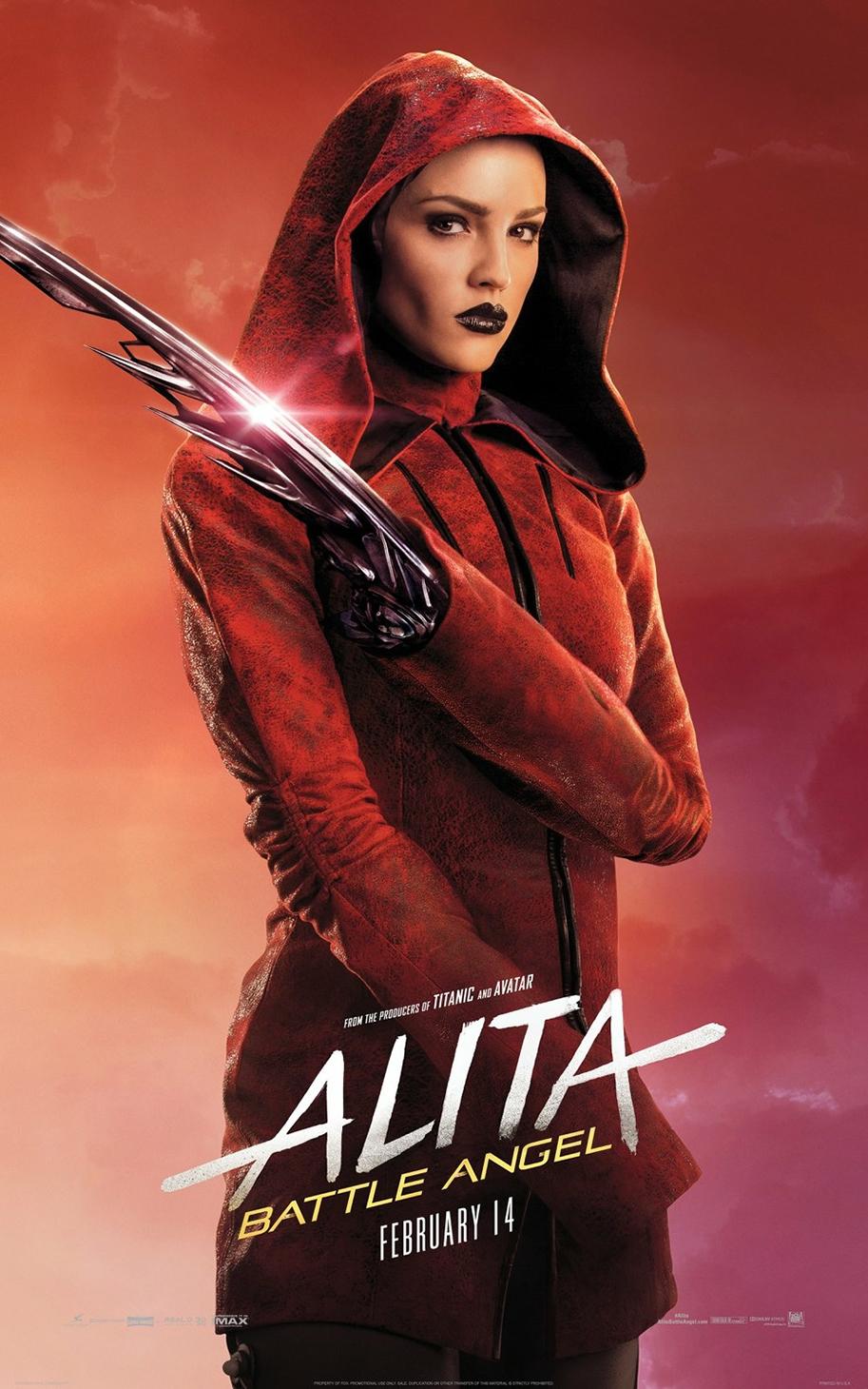 Alita: Battle Angel (2019) Dual Audio ORG 720p HDRip [Hindi – English]