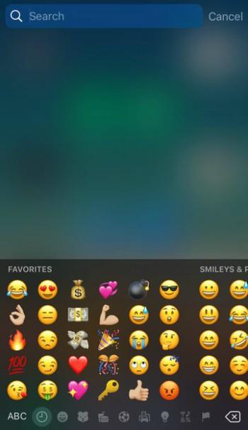 """favoriteemojis3 FavoriteEmojis – Exchange """"Steadily Used"""" Emojis along with your Favorites Emojis Apps Jailbreak"""