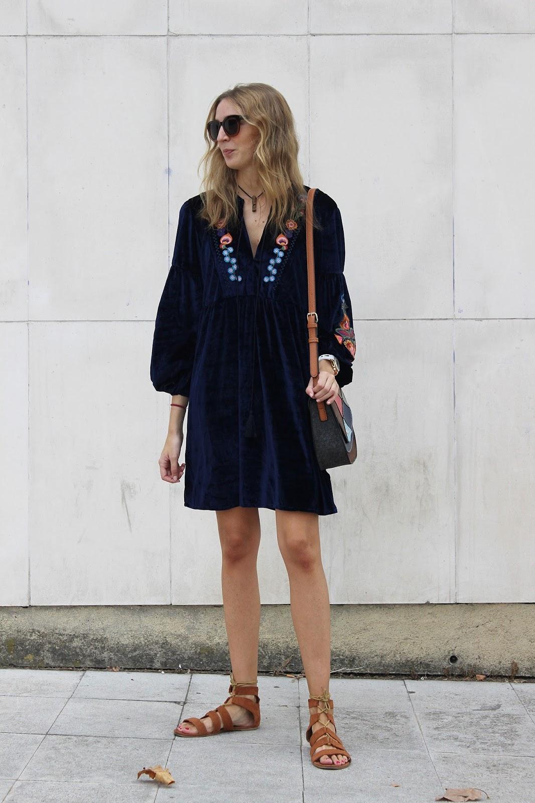 velvet-boho-dress-look