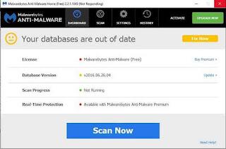 Anti Malware untuk PC: Malwarebytes