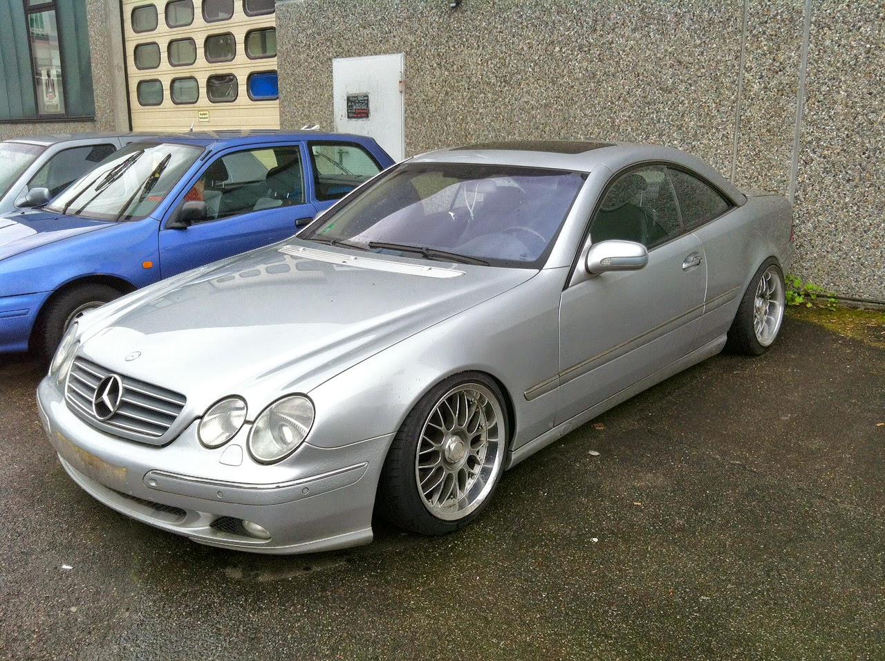 mercedes benz cl500 c215 on keskin wheels benztuning. Black Bedroom Furniture Sets. Home Design Ideas