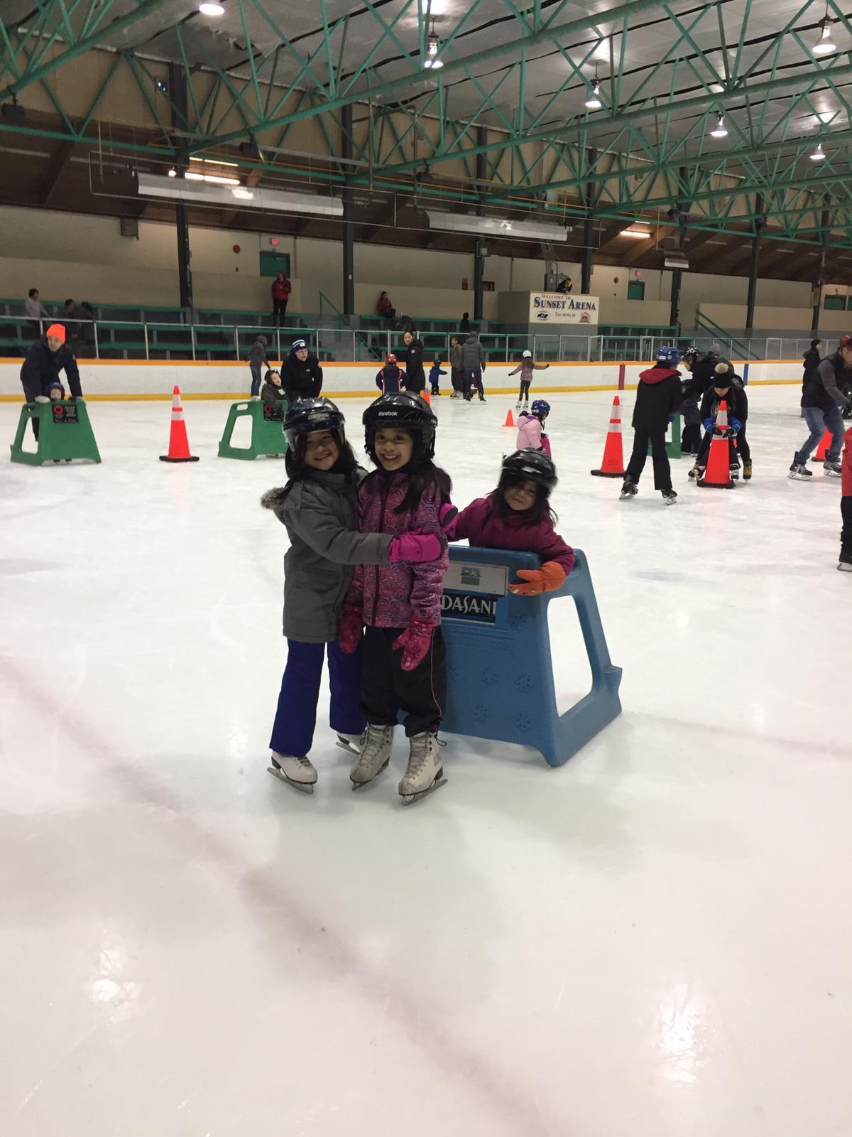 Princesses: Ice Skating Party
