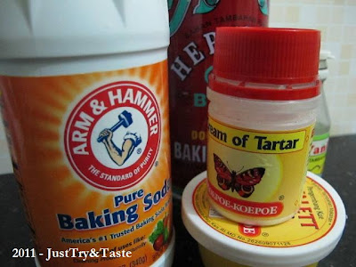 Baking Powder, Baking Soda, Cream of Tartar, Cake Emulsifier & Ragi Roti