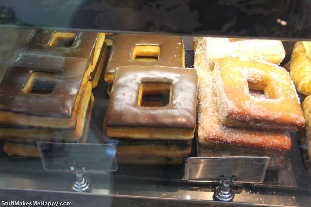 2. Square Donut