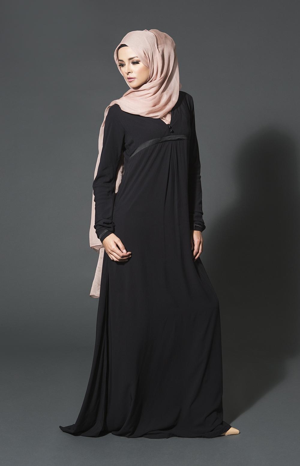 gambar model abaya