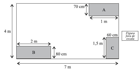 Questão 21 - Área e perímetro