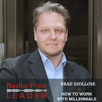 Listen to David Burkus intervew Brad Szollose on How To Manage Millennials...