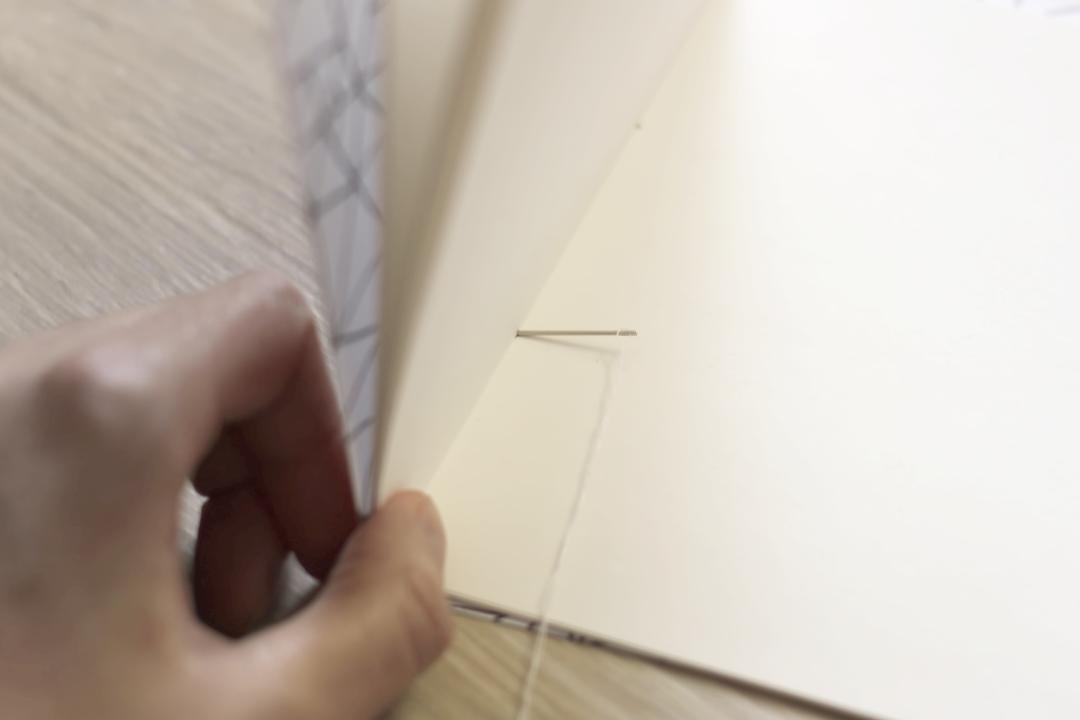jak zrobić szkicownik DIY scrapbooking