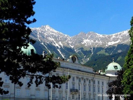Palacio imperial o Hofbug, Innsbruck, Tirol, Austria
