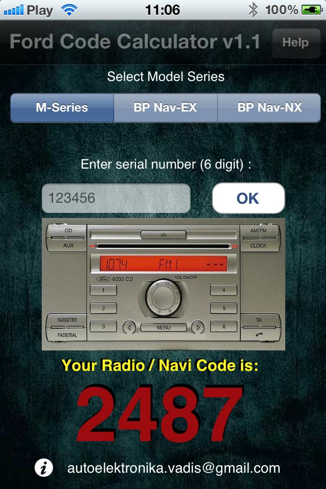Car Radio Decoding Software S