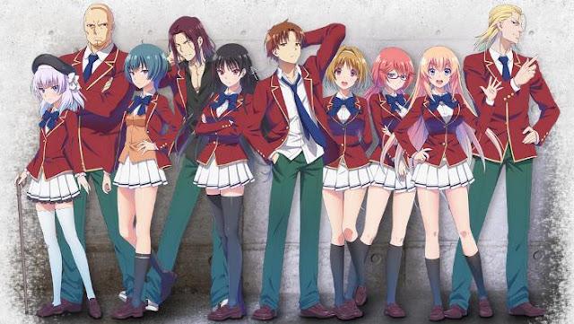 Classroom of the Elite - Daftar Anime Mirip Hyouka