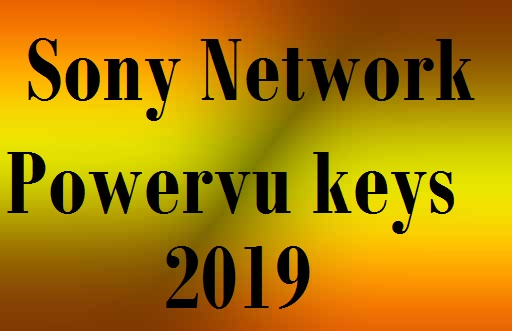Dish Frequencies: Sony Network Powervu keys 2019