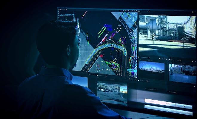 Nissan Seamless Autonomous Mobility control centre