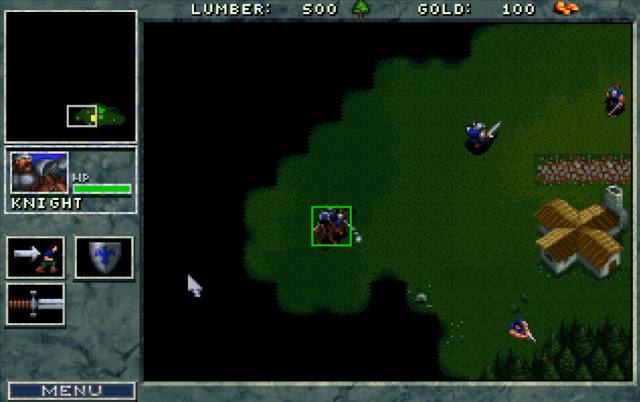 Warcraft 1 Knight Screenshot