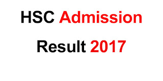HSC Admission Result 2017 xiclassadmission result