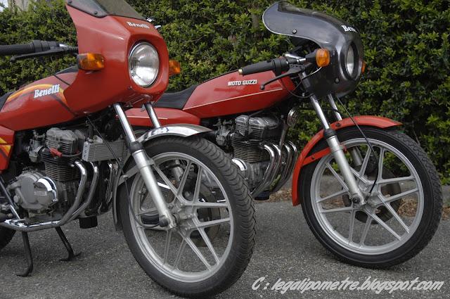 Les cousines Benelli / Moto Guzzi 254 (Années 70) _DSC0022