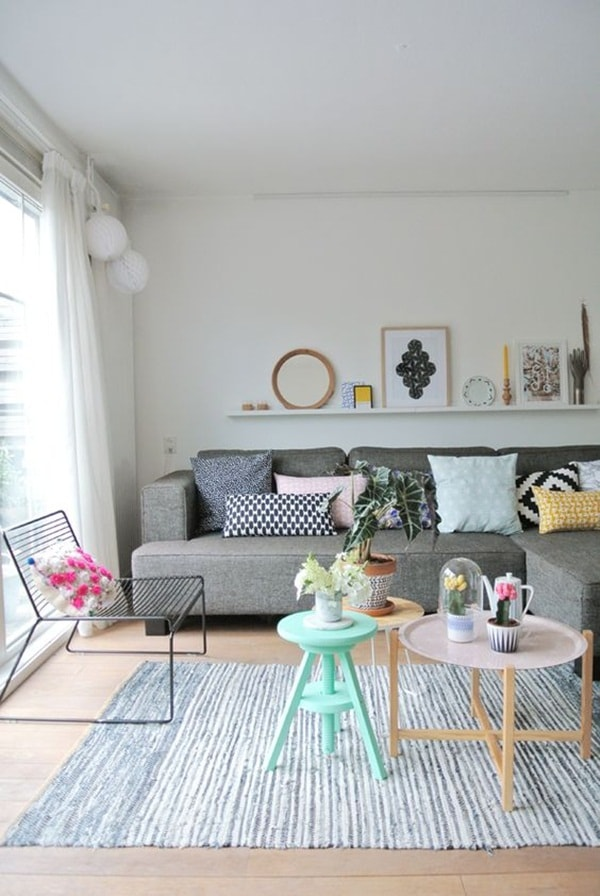 7 ideas for decorating rooms with little money 11