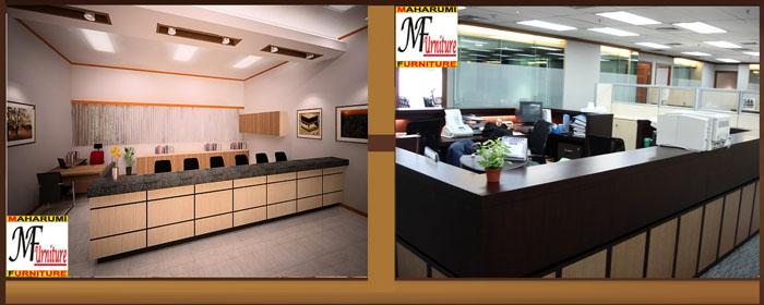 Custom Setting Interior Furniture Office Room
