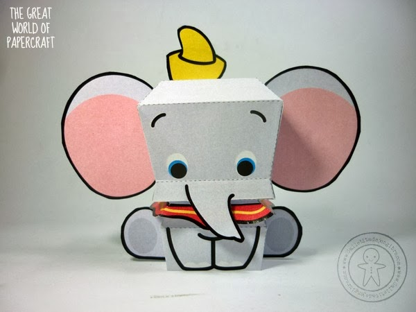 The Great World Of Papercraft Dumbo